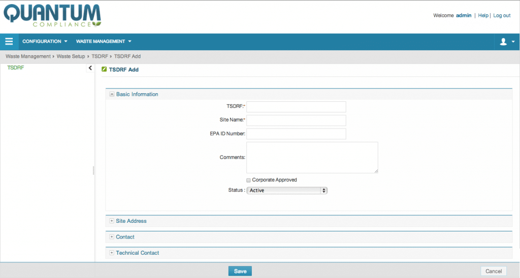 Add standardized forms in DOT-compliant format screenshot