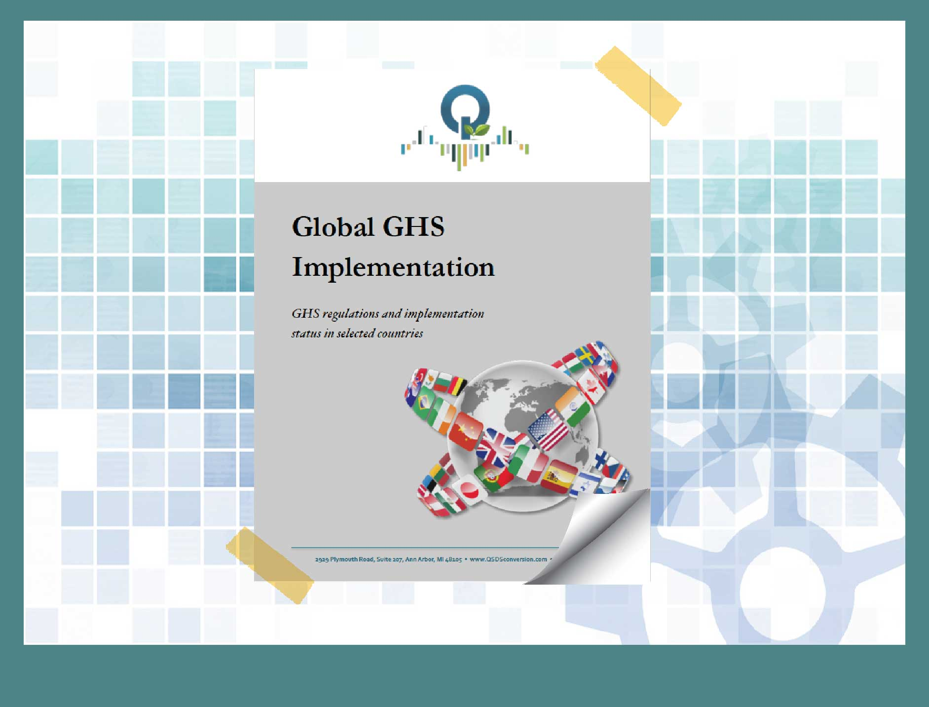 Cover to Global GHS Implementation Guide