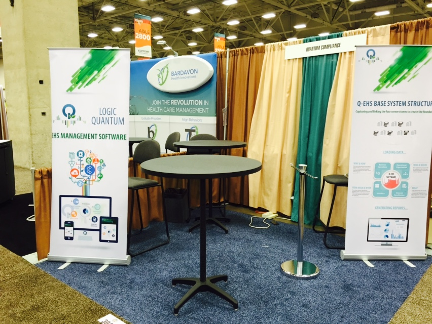 Quantum Compliance Safety 2015 Tradeshow Booth