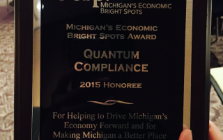Corp! Michigan's Economic Bright Spots Award