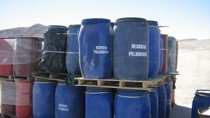 Toxic Waste Drums