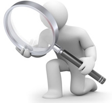 Magnifying Glass for Inspection