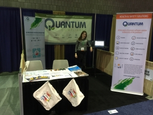 Quantum Compliance booth at NSC 2015