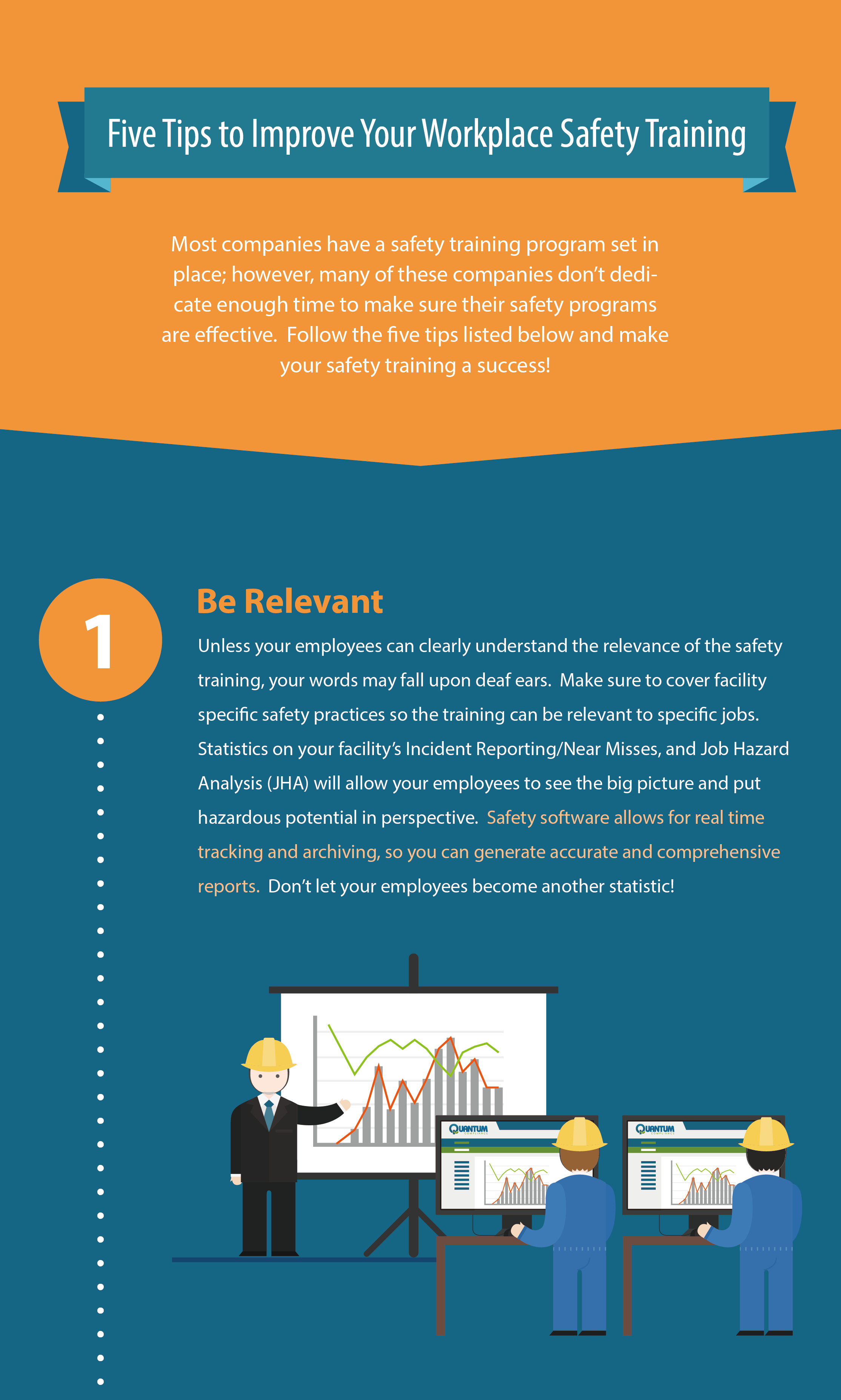 INFOGRAPHIC: Five Steps to Improve Safety Training
