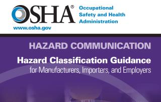 OSHA Releases Hazard Classification Guide