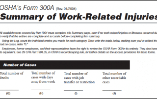 New OSHA Rule