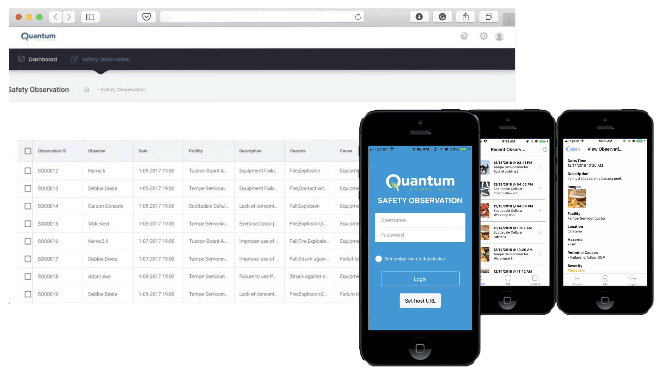 Quantum Compliance Launched Hazard Reporting within Their SaaS Platform