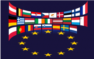 EU country flags