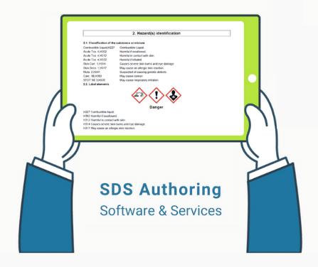GHS standard compliant SDS